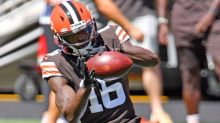 Browns waive J'Mon Moore, three others
