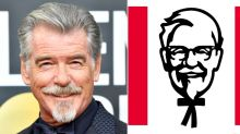 Pierce Brosnan Debuts a Goatee at the Golden Globes — and Twitter Wants Him to Play Colonel Sanders
