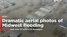 PHOTOS: Dramatic aerial views of Midwest flooding