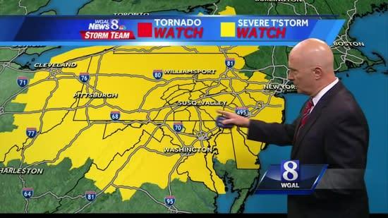 Joe's forecast: Muggy, some severe storms