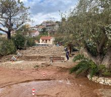 Three dead after rare Mediterranean storm batters Greece