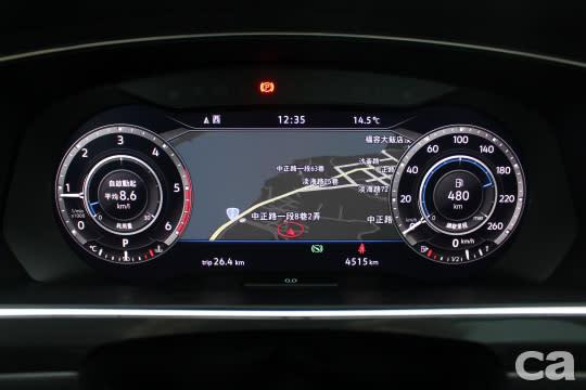 全邏輯數位儀錶同樣列為Highline車型標配,駕駛可直接判讀多樣資訊,無需將視線移開前方,不僅更便利也更安全。