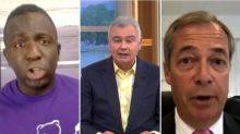 Femi Oluwole clashes with This Morning's Eamonn Holmes and Nigel Farage over BBC proms racism row