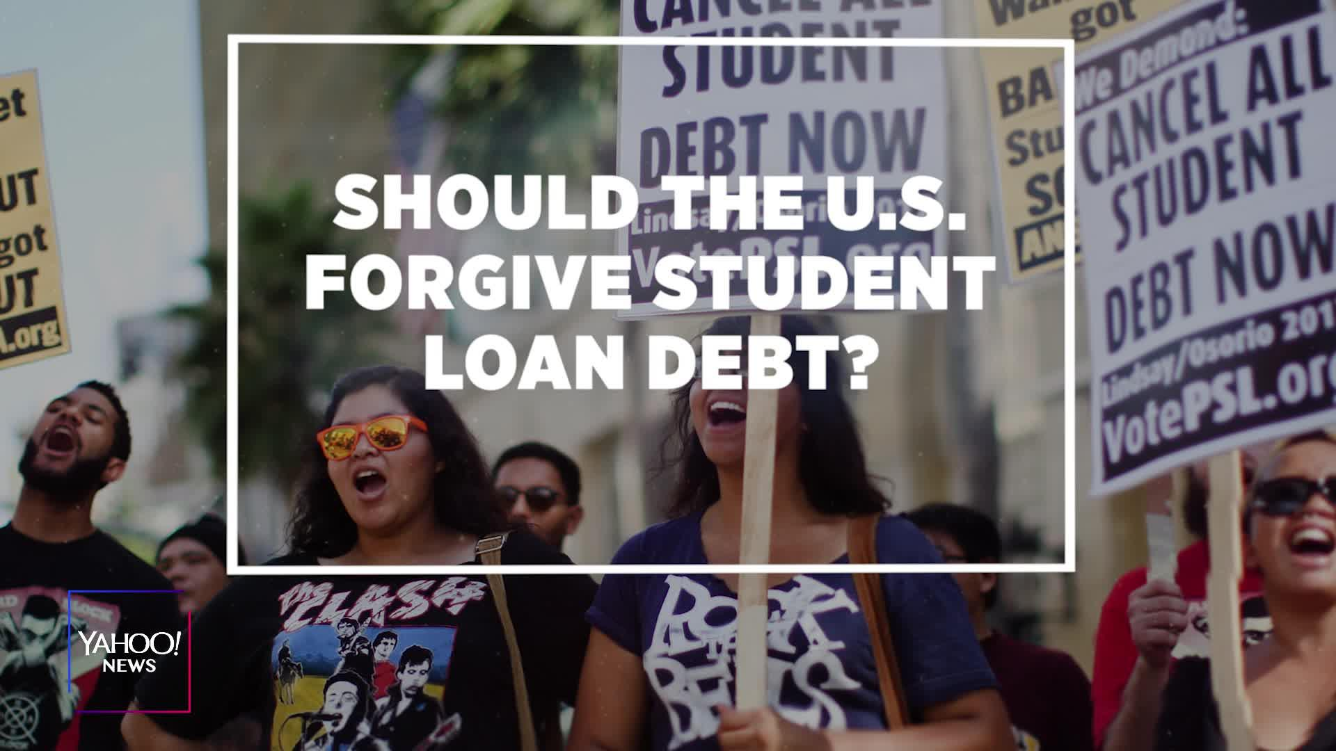 Should The U.S. Forgive Student Loan Debt? [Video]