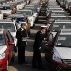 European autos tumble as U.S. tariff threat rattles Germans