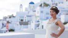 """Noiva rejeitada se casa consigo mesma em cerimônia: """"Eu sou maravilhosa, e sei disso"""""""
