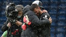Emotional Alisson Becker dedicates dramatic goal to his late father
