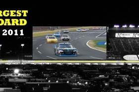 Panasonic, Charlotte Motor Speedway team up for the biggest HD screen ever