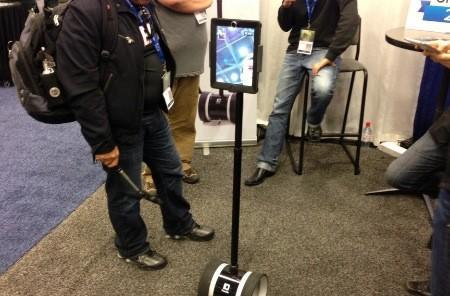 Double Robotics shows off its iPad-equipped robot