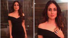 Flawless beauty Kareena Kapoor Khan looks glamorous in a black dress, view PHOTOS