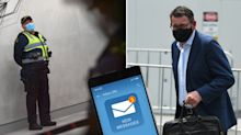 Premier Daniel Andrews' text messages on first night of quarantine bungle revealed