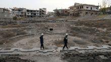 Des casques blancs syriens quittent la Jordanie pour l'Occident