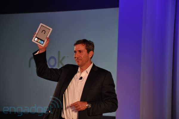 Barnes & Noble Nook dual-screen reader officially announced... for real
