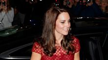 Kate Middleton Rocks Red Gown for Opening Night of Musical