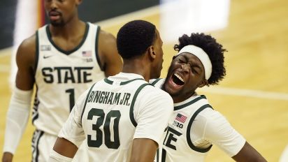 Spartans pull off needed upset of No. 5 Illini