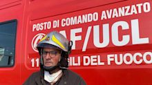 """Ancona, vigile fuoco: """"Grosse difficoltà per estensione area"""""""