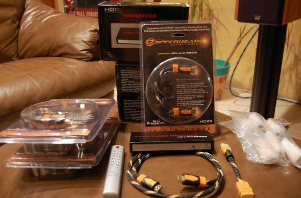 Engadget HD giveaway: win a 5x1 HDMI switch and Copperhead HDMI cables!