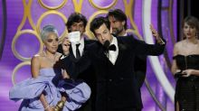 Golden Globes 2019: Viewers think Mark Ronson took Lady Gaga's spotlight during acceptance speech for 'Shallow'