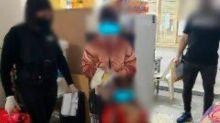 La llevaron engañada y la mantuvieron retenida junto a su hija para obligarla a atender un local de comidas