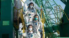 Russische Sojus-Kapsel reist in Rekordzeit zur internationalen Raumstation