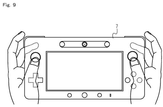 Wii U WiiPad controller patent reveals magnetometer, flash memory