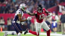 Falcons' Mohamed Sanu is a positive in-flight role model