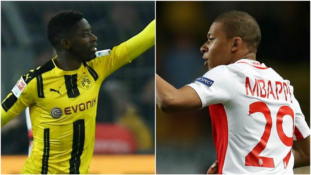 Talento al potere: Monaco-Dortmund è Mbappé contro Dembelé
