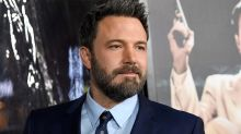 Ben Affleck Takes in a Stray Husky