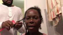 Video of son combing his mother's hair is the sweetest thing you'll see all day