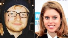 Princess Beatrice cuts Ed Sheeran with sword in party gaffe