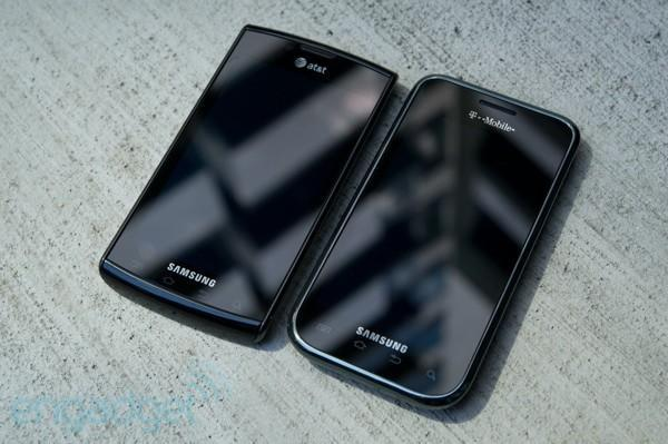 Samsung Galaxy S sporting Gorilla Glass to protect that precious AMOLED