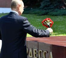 Vladimir Putin uses 80th anniversary of Nazi invasion to lash out at Nato