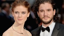Rose Leslie shows off her beautiful engagement ring