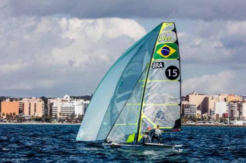 Scheidt e Borges encerram participação Troféu Princesa Sofia em 11º lugar