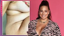 Pregnant Ashley Graham praised for nude photo showing changing body and stretch marks