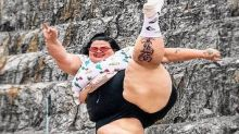 Com 140 quilos, bailarina plus size de Anitta chama atenção na web