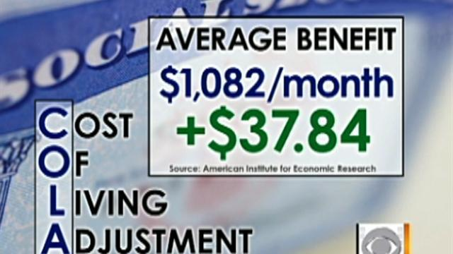 Social Security checks to increase 3.5 percent
