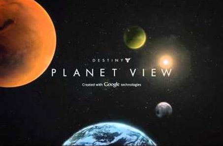 Take a tour of Destiny with Planet View