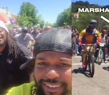 Marshawn Lynch led a massive bike ride in Oakland and it was awesome