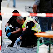 Suicide bomb attack on music festival in Ansbach, Germany