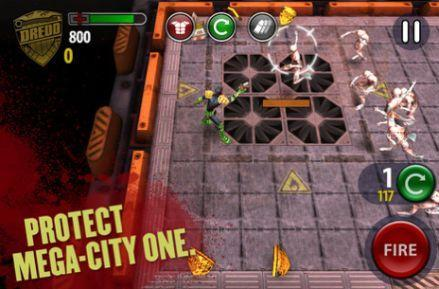 Daily iPhone App: Judge Dredd vs. Zombies