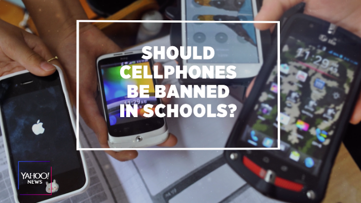 Should cellphones be banned in schools?