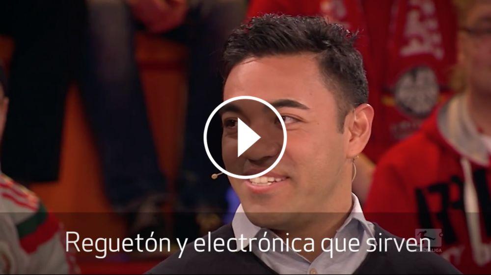 VIDEO: Marco Fabián se luce hablando un perfecto alemán