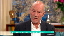 Sir Patrick Stewart: Emergency heart op made me realise I am not immortal