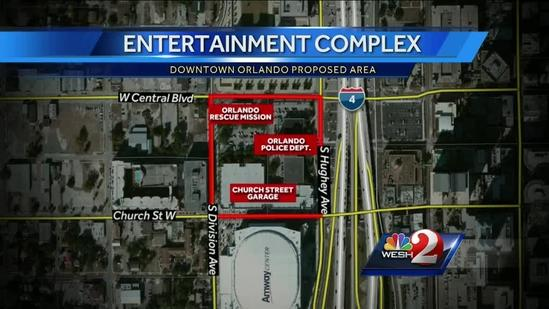Orlando Magic plan $100M entertainment complex
