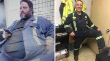 Adelgazó 148 kilos tras un incendio