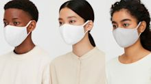 Uniqlo's top-rated Airism face masks are only $15, and they now come in larger sizes