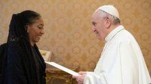 Embajadora ante el Vaticano: así fue el reencuentro de María Fernanda Silva con el papa Francisco