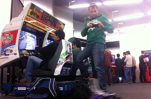 Arduino project has Sega Rally cabinets steer RC cars: like the game with more bruised ankles (video)