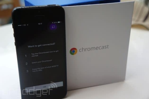Chromecast's custom backgrounds are finally here